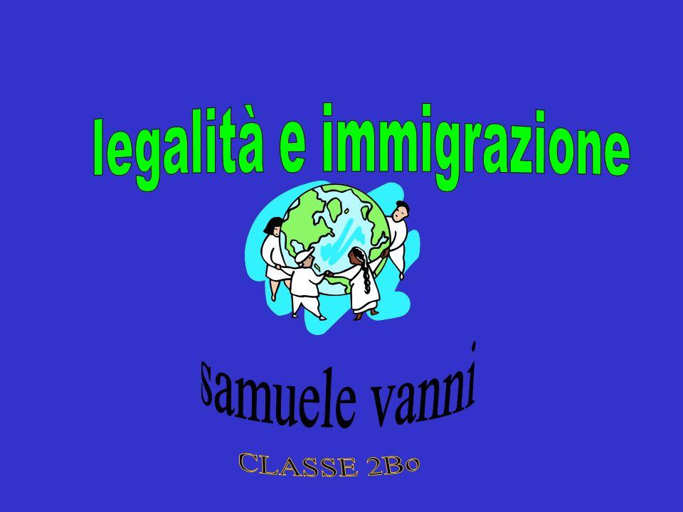 terminologia Il termine immigrazione vuol dire spostarsi da un paese allaltro.