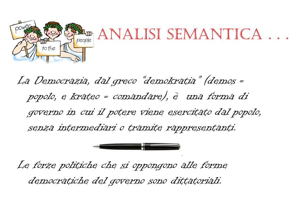 Analisi semantica...