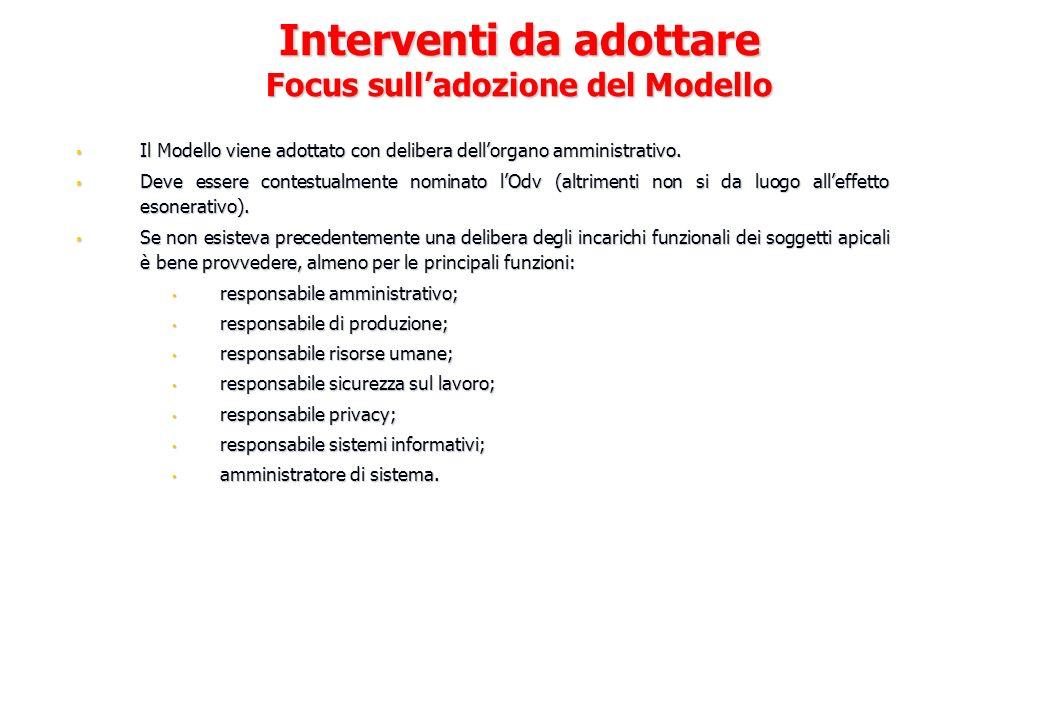 Il Modello viene adottato con delibera dellorgano amministrativo. Il Modello viene adottato con delibera dellorgano amministrativo. Deve essere contes