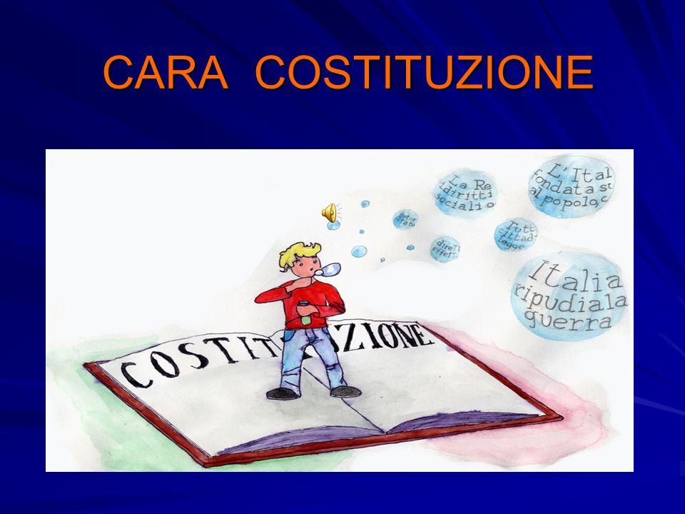 CARA COSTITUZIONE