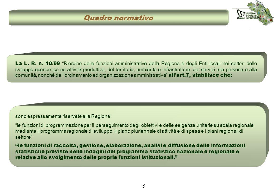 5 La L. R. n. 10/99 Riordino delle funzioni amministrative della Regione e degli Enti locali nei settori dello sviluppo economico ed attività produtti