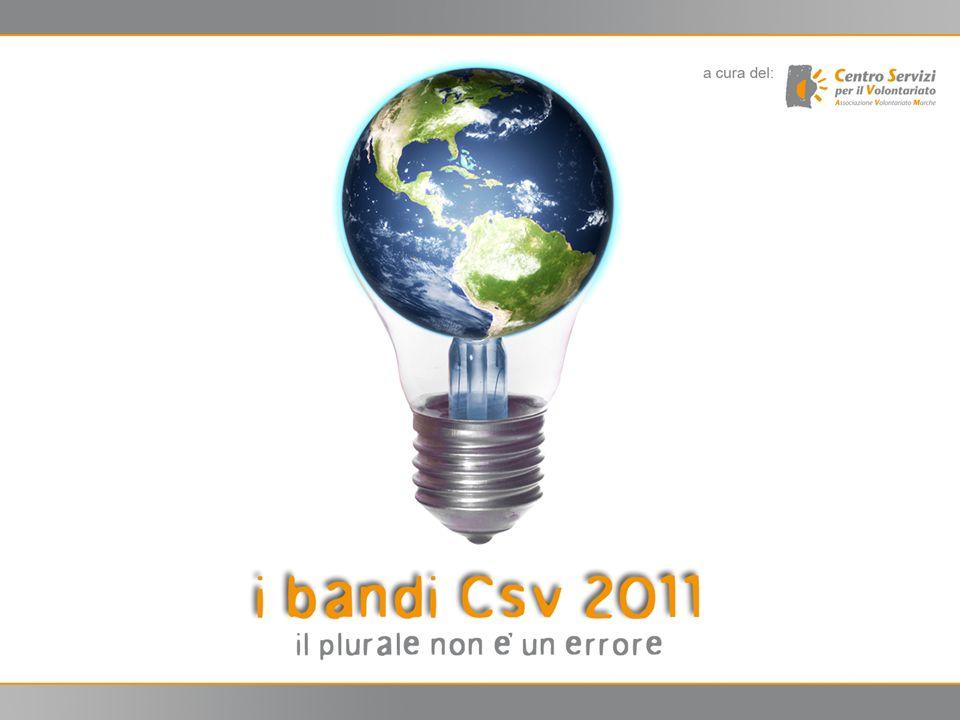 2 2 Accordo nazionale giugno 2010: rappresentanza del Volontariato, ACRI, Co.Ge.