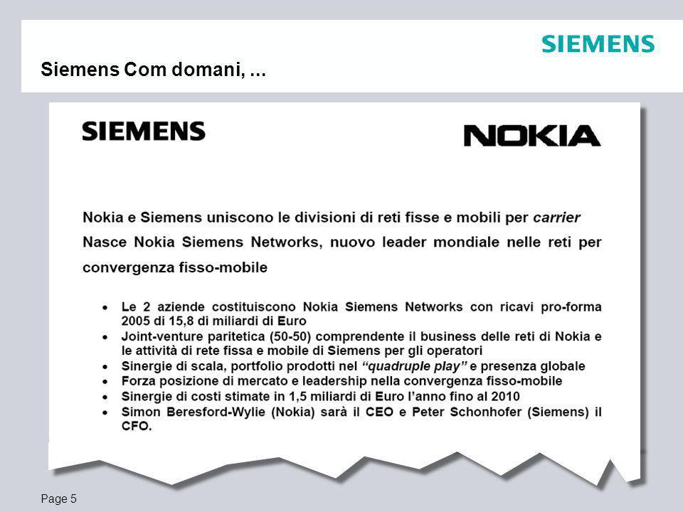 Page 5 Siemens Com domani,...