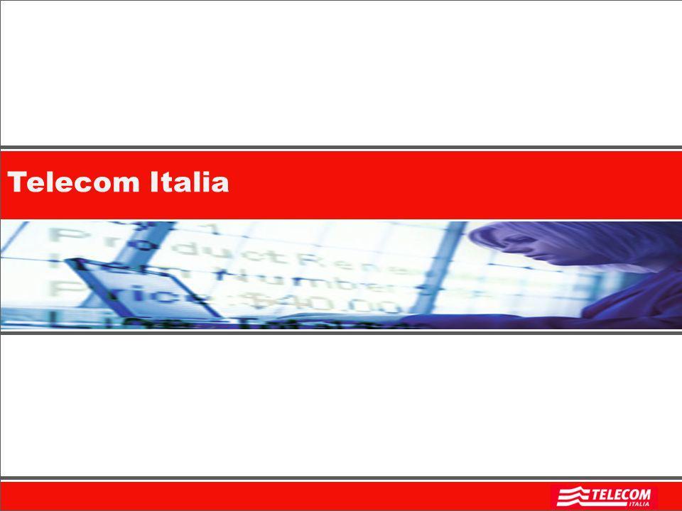 2 Un po di storia recente 1994: lIRI approva il Piano di riassetto delle telecomunicazioni che prevede la fusione delle cinque società del gruppo IRI-STET impegnate nel settore telefonico (Sip, Iritel, che nel 1992 aveva acquisito le attività dellAzienda di Stato per i Servizi Telefonici, Italcable, Telespazio e Sirm) e la nascita di una nuova società che assume la denominazione sociale di Telecom Italia.