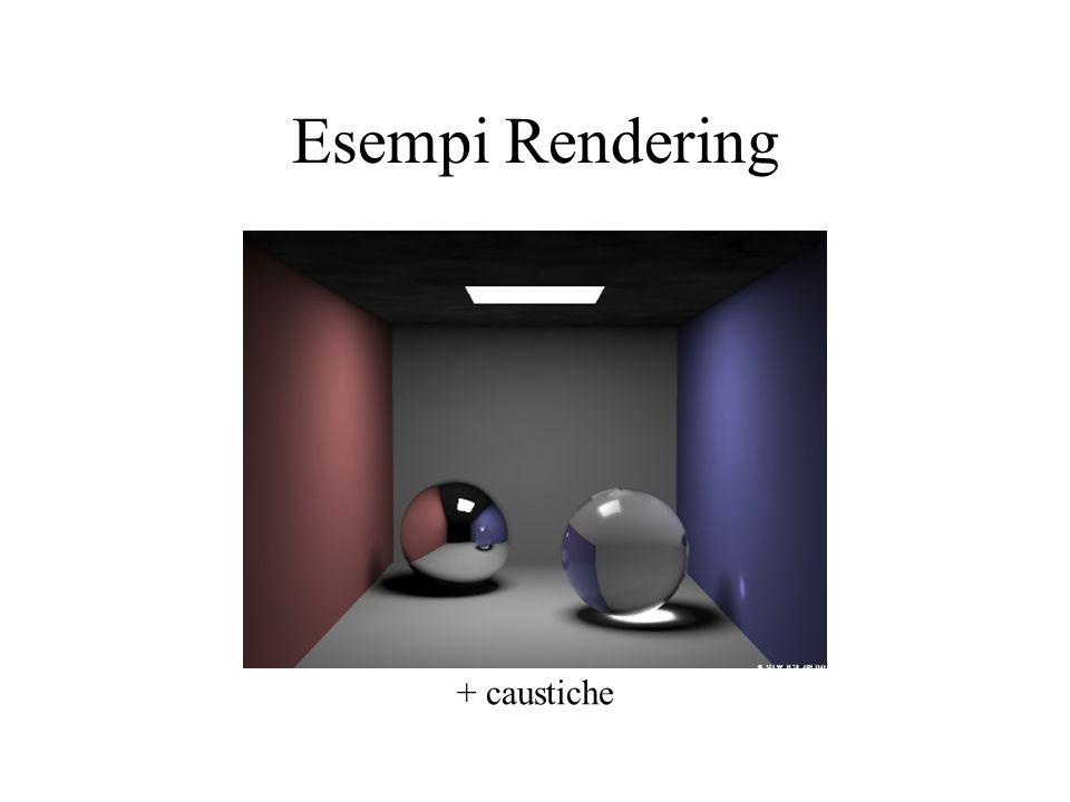 Esempi Rendering + caustiche