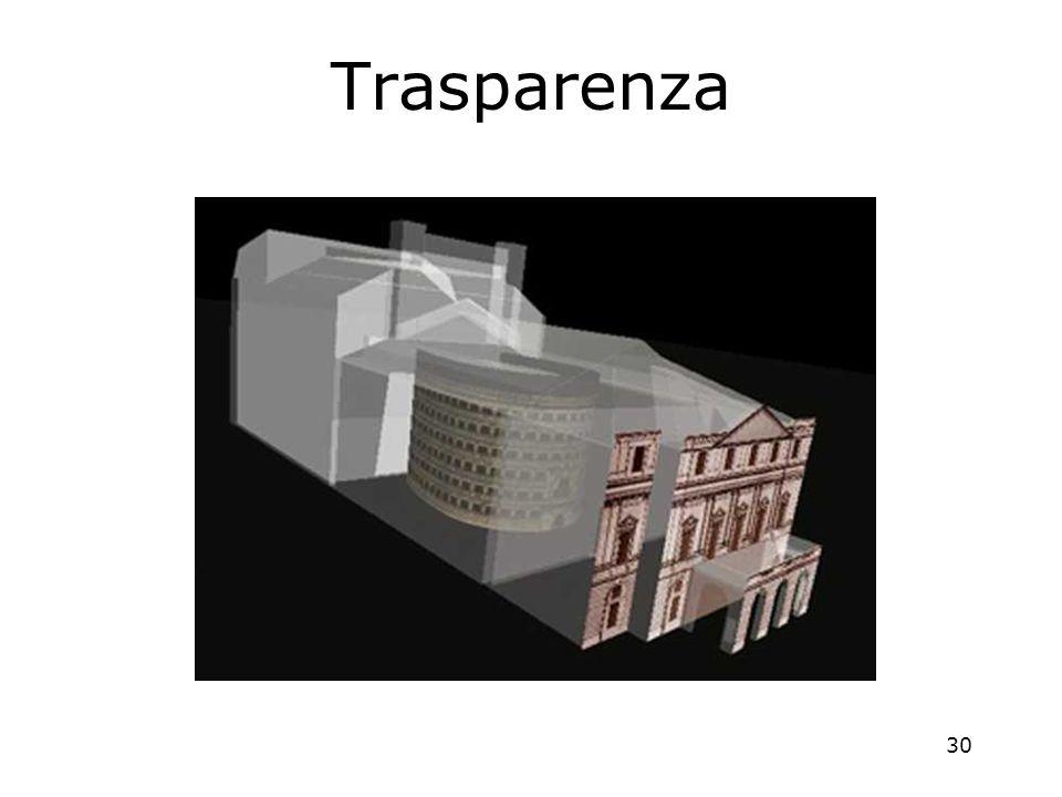 30 Trasparenza