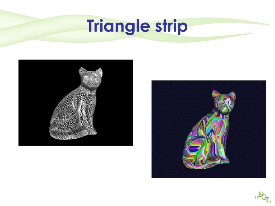 11 Triangle strip