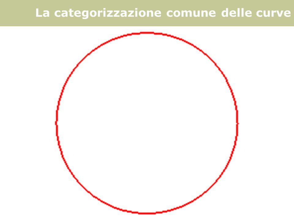 F. Gay – corso di fondamenti e applicazioni di geometria descrittiva aa. 2007 - 2008 La categorizzazione comune delle curve