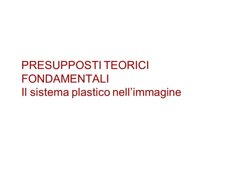 PRESUPPOSTI TEORICI FONDAMENTALI Il sistema plastico nellimmagine