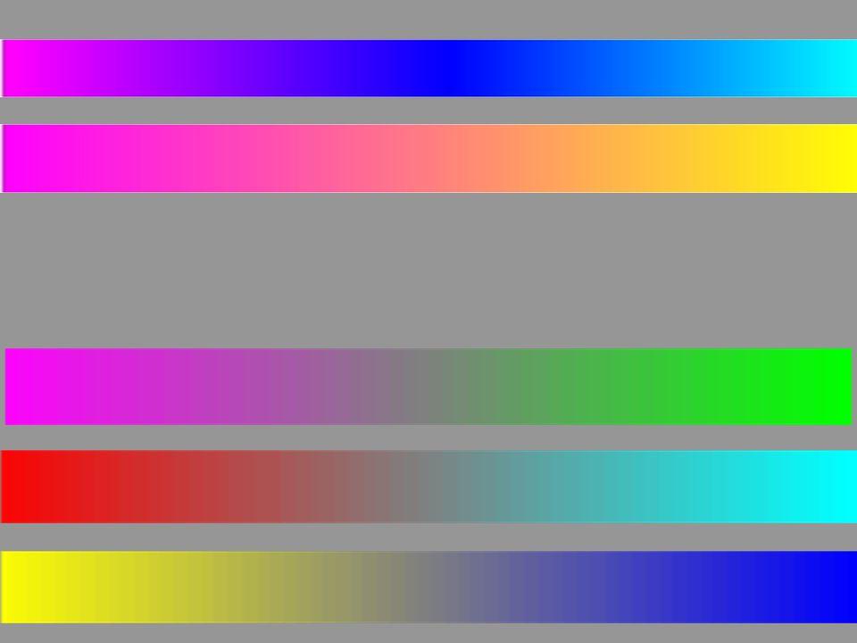 Tanti paradigmi del colore