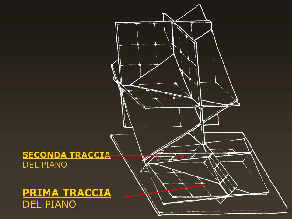 PRIMA TRACCIA DEL PIANO SECONDA TRACCIA DEL PIANO