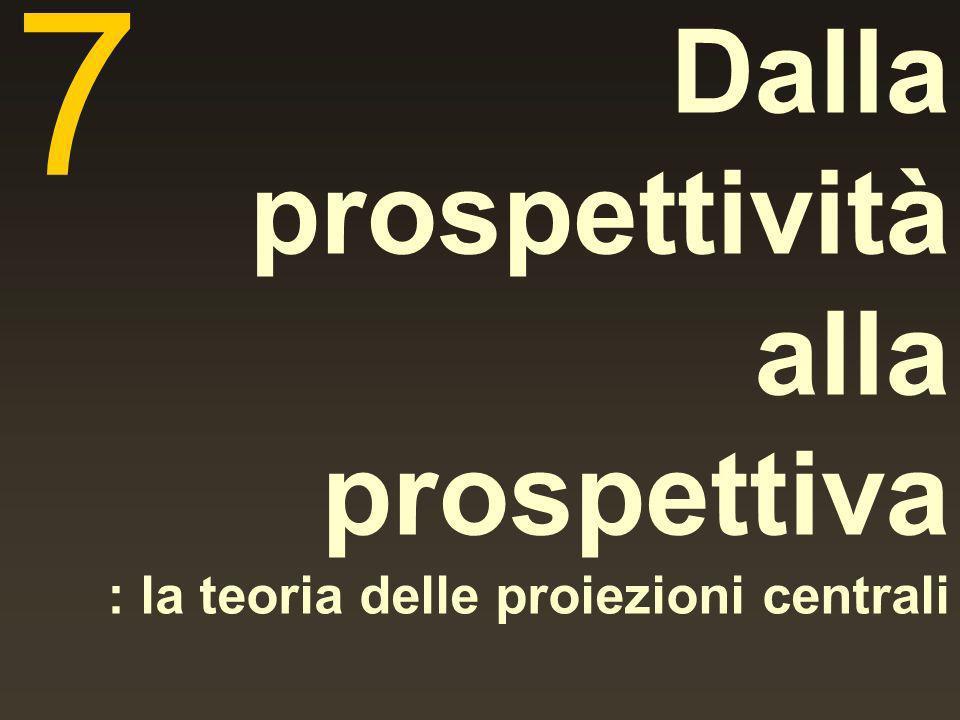 Dalla prospettività alla prospettiva : la teoria delle proiezioni centrali 7