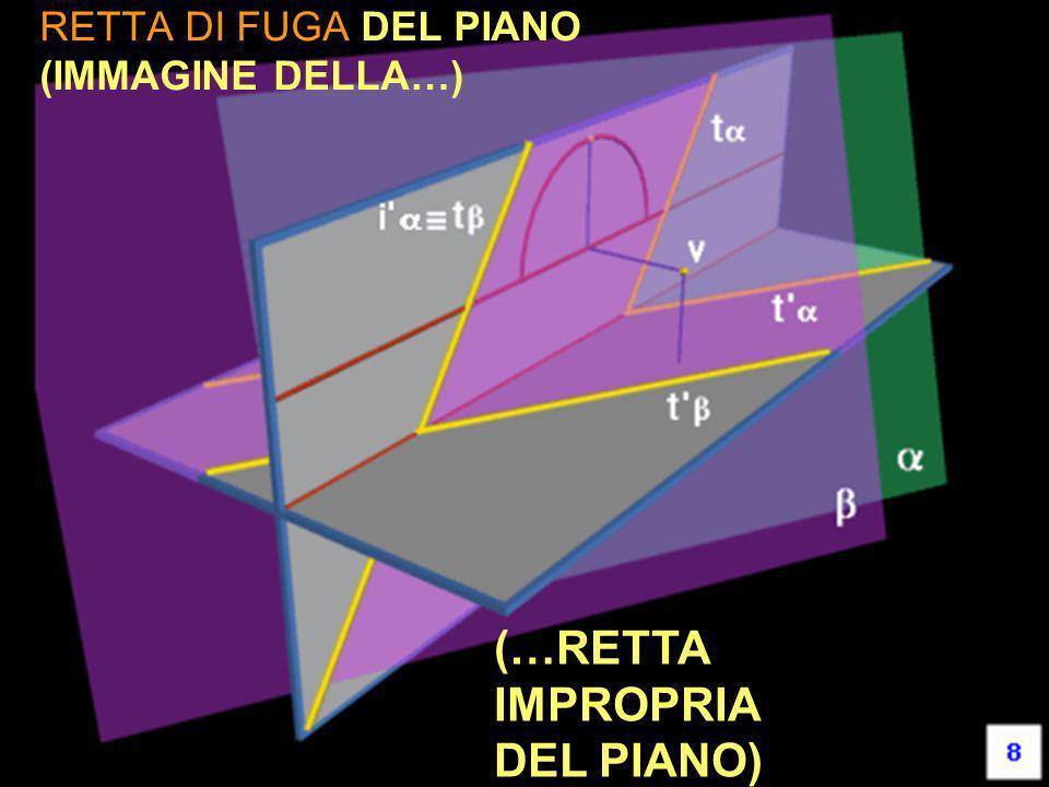 RETTA DI FUGA DEL PIANO (IMMAGINE DELLA…) (…RETTA IMPROPRIA DEL PIANO)