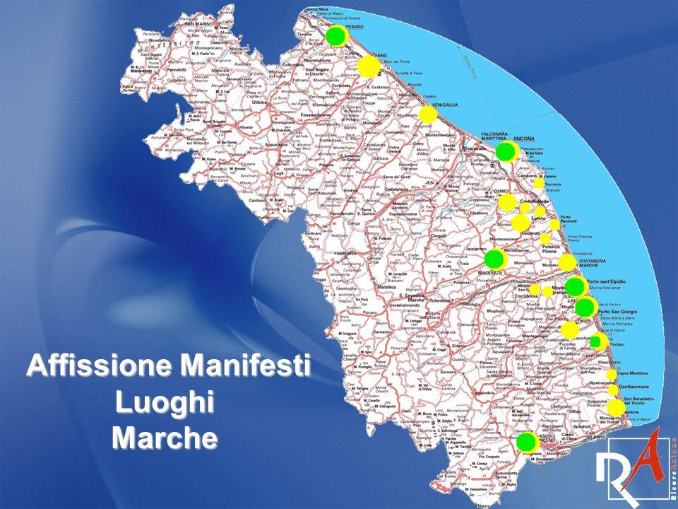 Affissione Manifesti Luoghi Marche Affissione Manifesti Luoghi Marche