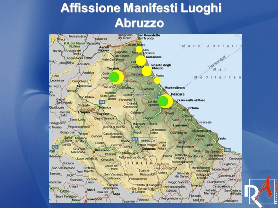 Affissione Manifesti Luoghi Abruzzo Affissione Manifesti Luoghi Abruzzo