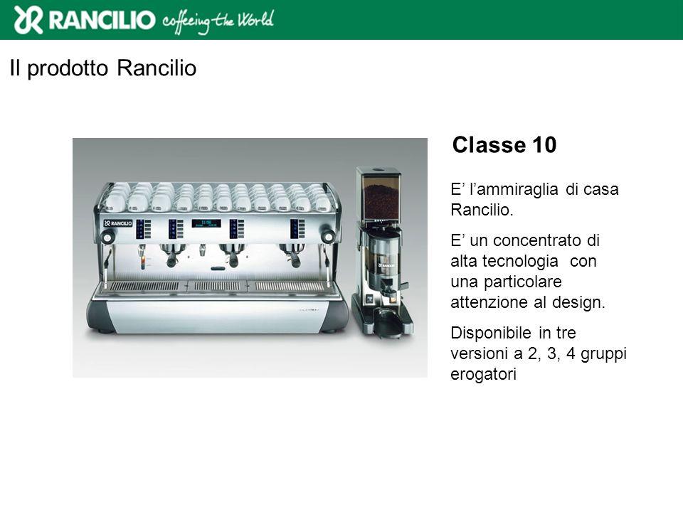 Classe 8 Classe 8 è una macchina per caffè innovativa e tecnologicamente avanzata.