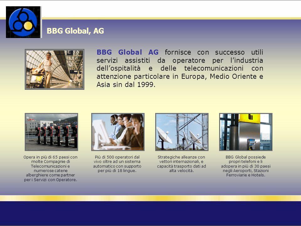 BBG Global, AG BBG Global possiede propri telefoni e li adopera in più di 30 paesi negli Aeroporti, Stazioni Ferroviarie e Hotels.