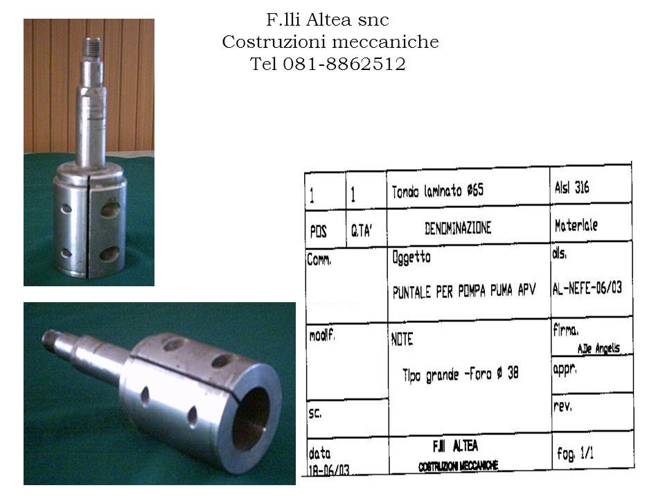 F.lli Altea snc Costruzioni meccaniche Tel 081-8862512 AL-NEFE-17/04 000