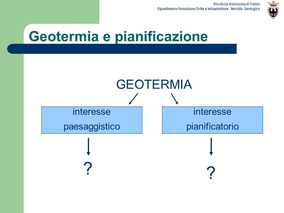 Provincia Autonoma di Trento Dipartimento Protezione Civile e Infrastrutture - Servizio Geologico Legenda