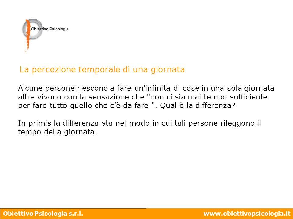 Obiettivo Psicologia s.r.l.www.obiettivopsicologia.it 1440 24 86400