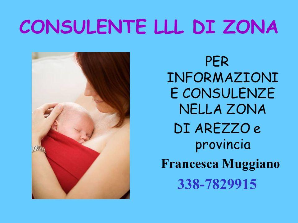 CONSULENTE LLL DI ZONA PER INFORMAZIONI E CONSULENZE NELLA ZONA DI AREZZO e provincia Francesca Muggiano 338-7829915