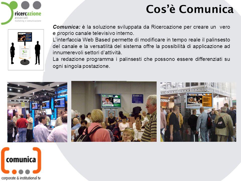 Cosè Comunica Comunica: è la soluzione sviluppata da Ricercazione per creare un vero e proprio canale televisivo interno.