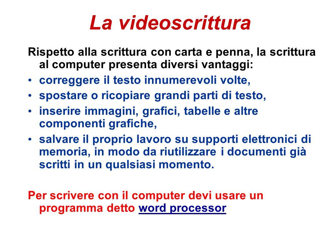 Introduzione Writer di Open Office è un software per la videoscrittura di documenti.