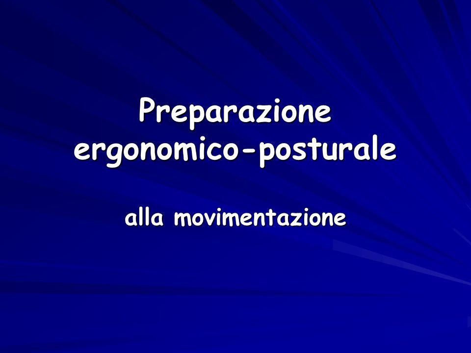 Preparazione ergonomico-posturale alla movimentazione