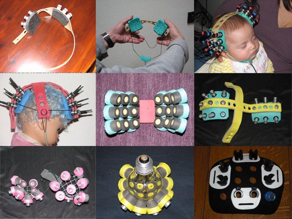 La parte pratica della prima sezione è rivolta alla progettazione e realizzazione del supporto (cuffia o probe) per le fibre ottiche, da utilizzare con gli infanti, sia nati a termine che pre-termine.