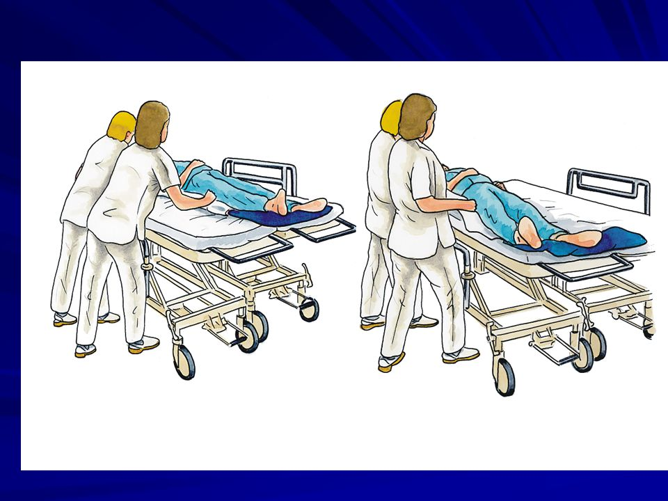 Movimentazione letti o carrelli con superamento di ostacoli o dislivelli