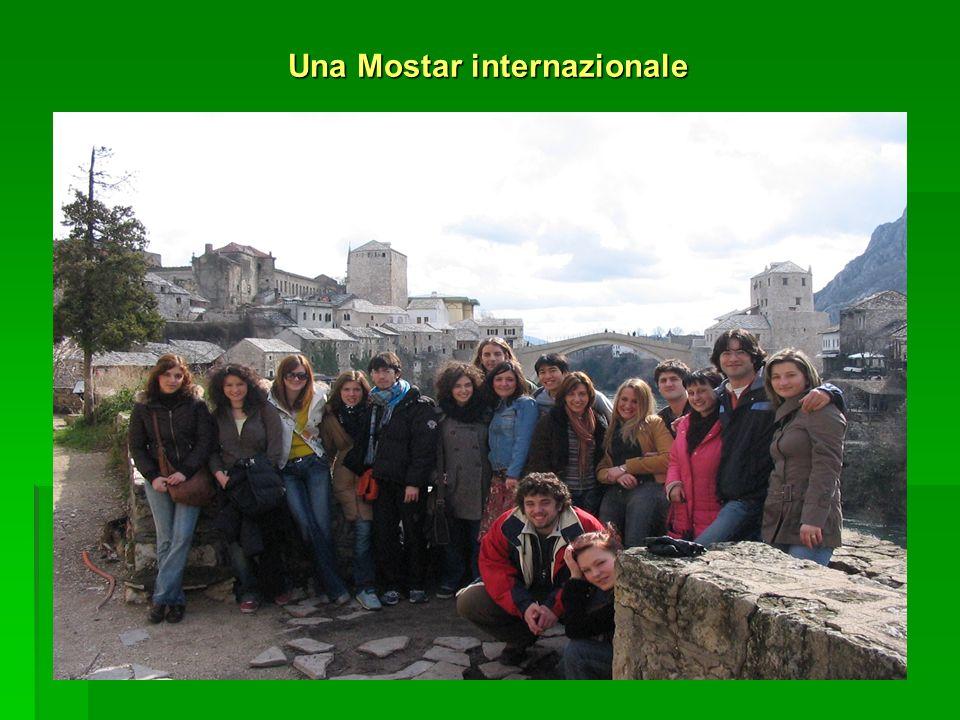 Una Mostar internazionale