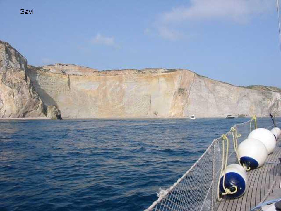 L'Isola di Gavi è una piccola isola compresa nell'arcipelago Pontino. Situata a soli 120 metri da Ponza, ha una lunghezza di circa 700 metri ed è larg
