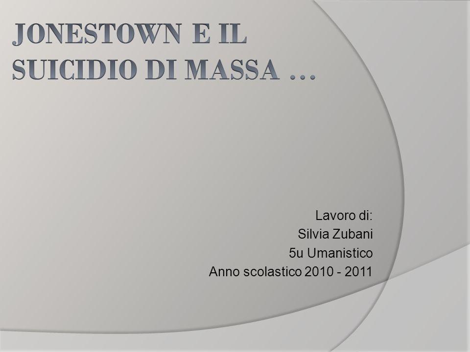 Lavoro di: Silvia Zubani 5u Umanistico Anno scolastico 2010 - 2011