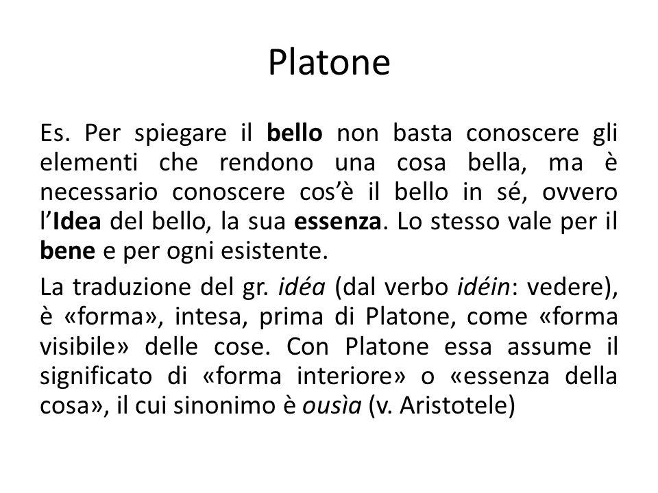 Platone Es.