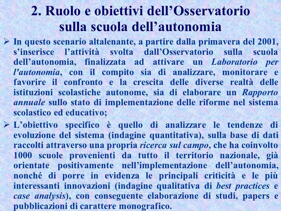 Lautonomia scolastica nella riforma Moratti I recenti provvedimenti in materia scolastica compresi i decreti attuativi della legge 53/03 si pongono pe
