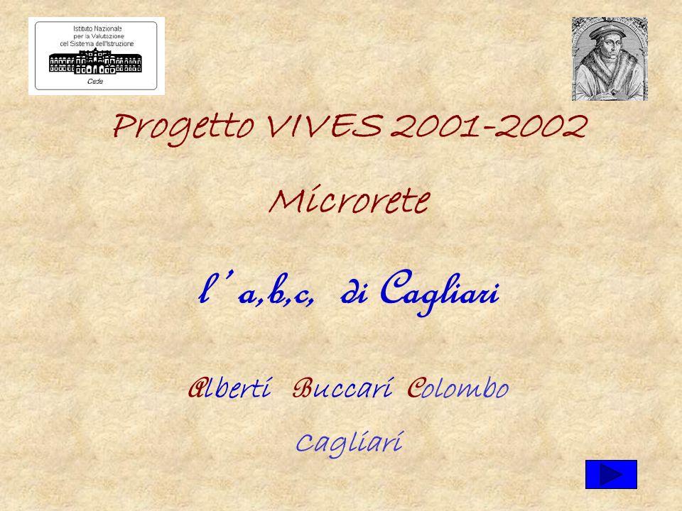 Progetto VIVES 2001-2002 Microrete l a,b,c, di Cagliari A lberti B uccari C olombo Cagliari