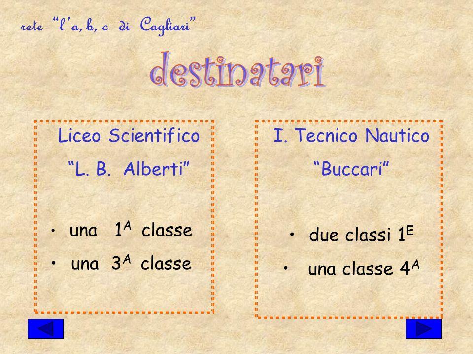 rete la, b, c di Cagliari Liceo Scientifico L. B.