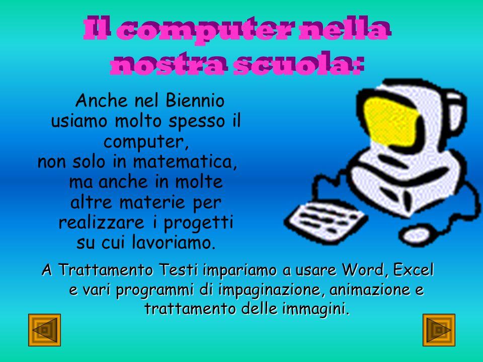 Qui imparerai ad utilizzare al meglio il tuo computer e a lavorare con PowerPoint, Word ed Excel.