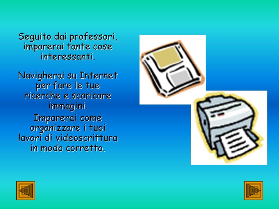 Il computer nella nostra scuola: Il computer nella nostra scuola: Anche nel Biennio usiamo molto spesso il computer, non solo in matematica, ma anche