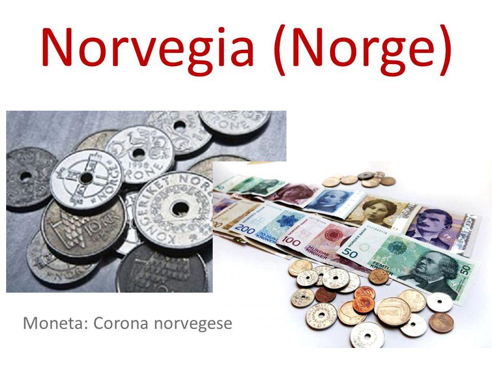 Norvegia (Norge) Moneta: Corona norvegese