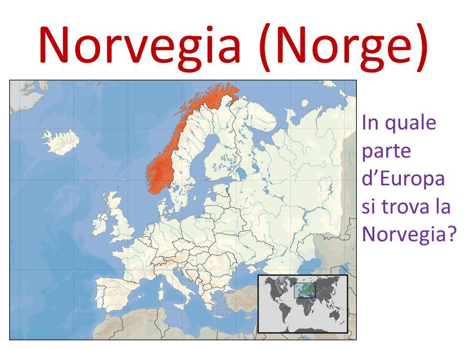 In quale parte dEuropa si trova la Norvegia?