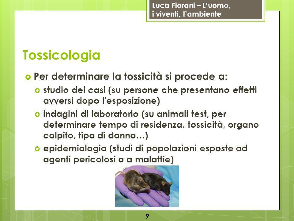 Luca Fiorani – Luomo, i viventi, lambiente 50 Fine della lezione…
