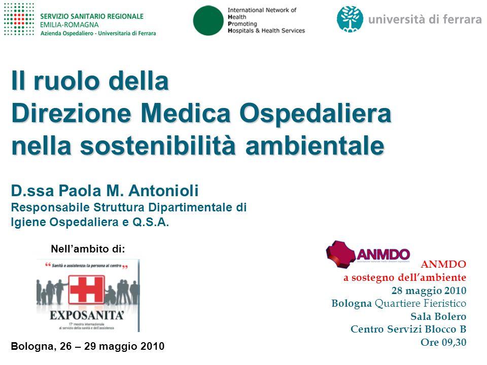 Struttura Dipartimentale di Igiene Ospedaliera e Q.S.A.2 Il RUOLO
