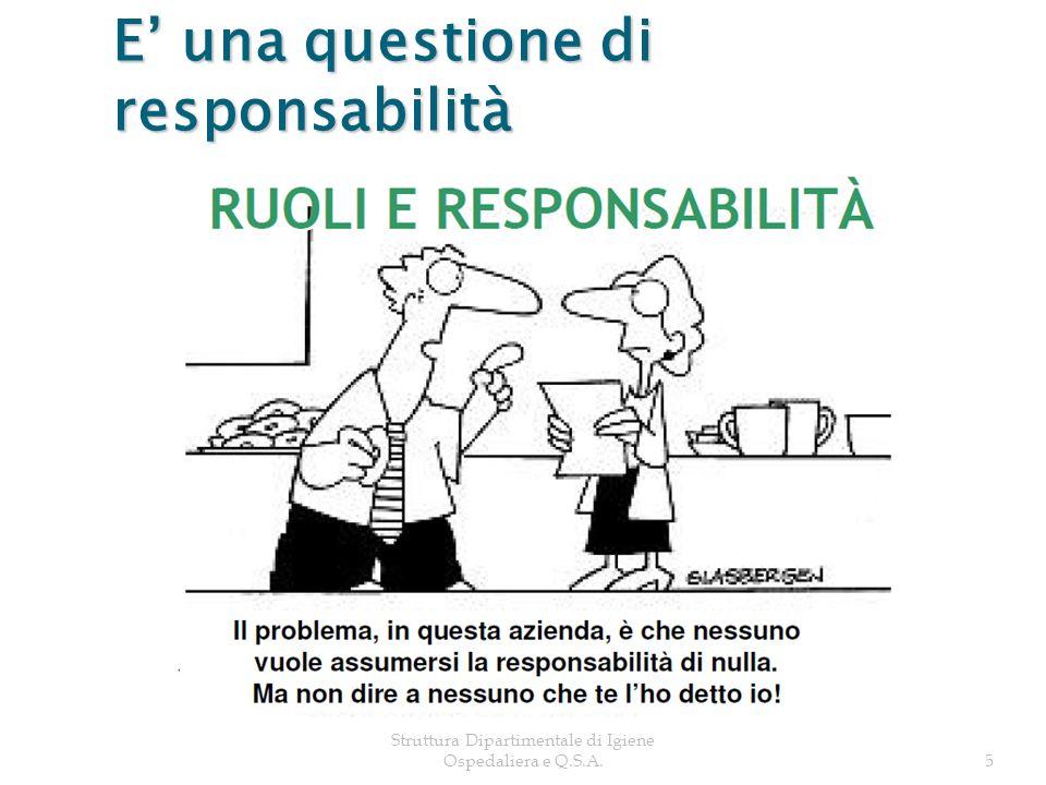 5 E una questione di responsabilità