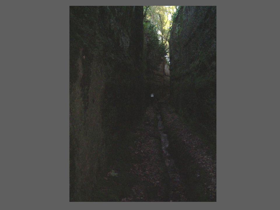 via cava di Monte Casoli E situata in una vasta zona archeologica abitata sin dalla Preistoria, nei pressi della cittadina di Bomarzo.