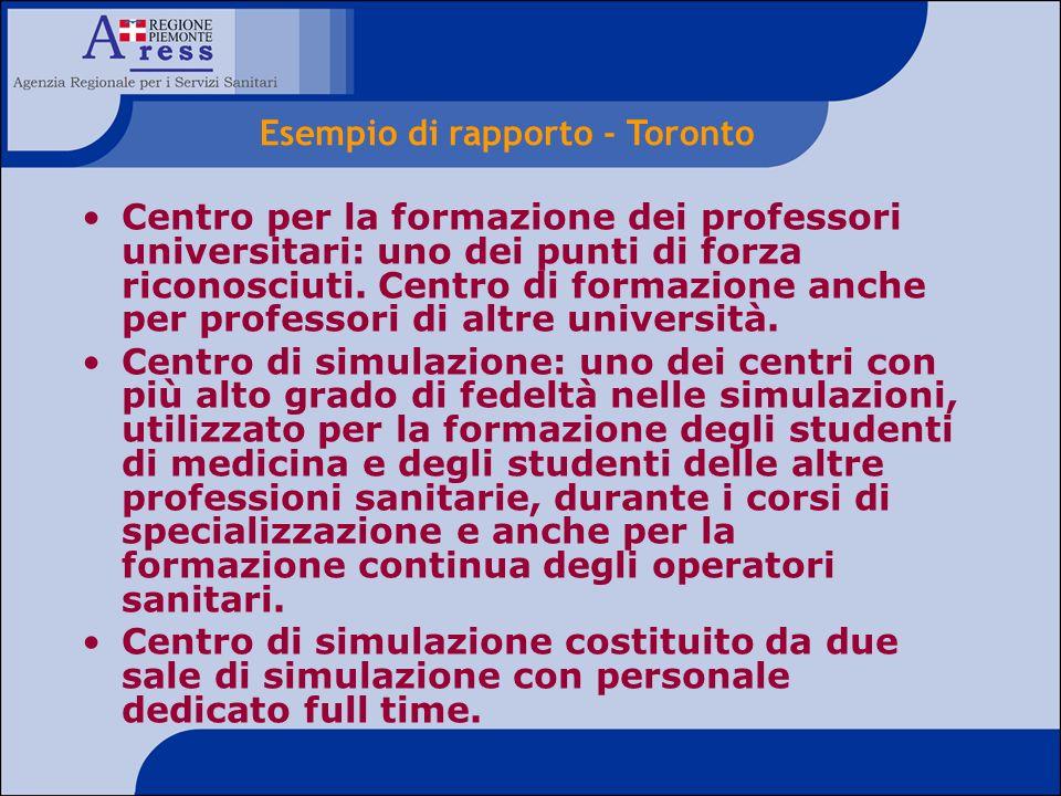 Centro per la formazione dei professori universitari: uno dei punti di forza riconosciuti. Centro di formazione anche per professori di altre universi