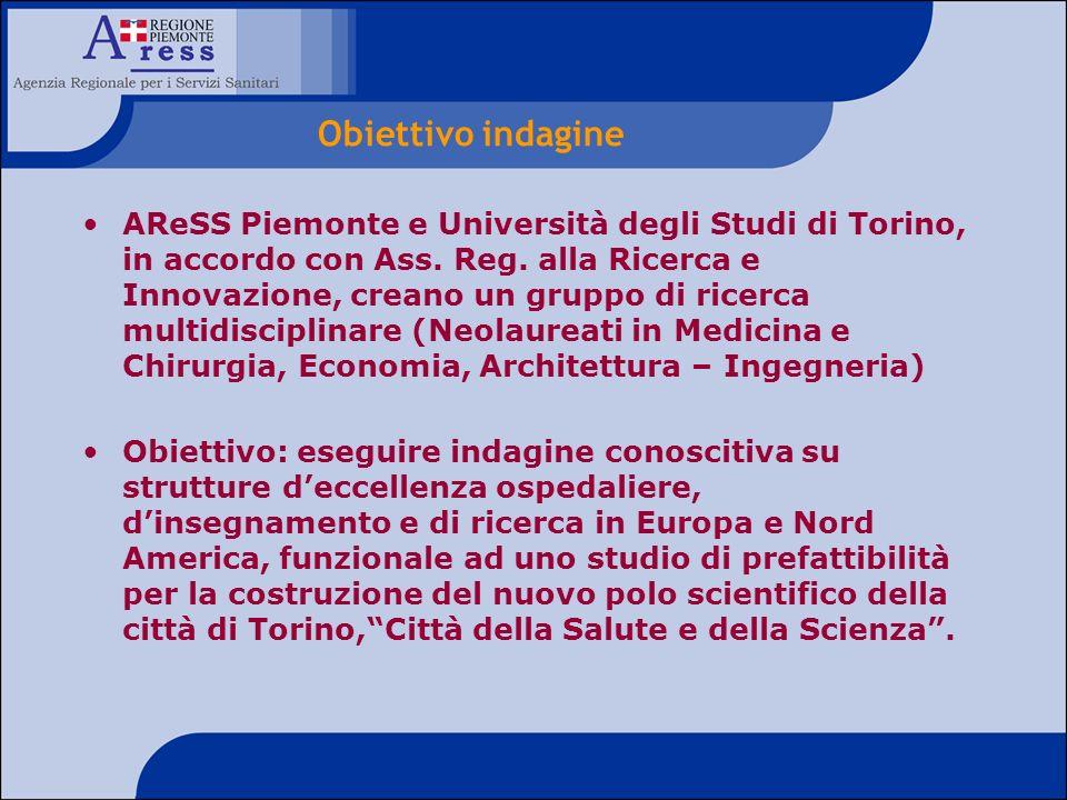 AReSS Piemonte e Università degli Studi di Torino, in accordo con Ass. Reg. alla Ricerca e Innovazione, creano un gruppo di ricerca multidisciplinare