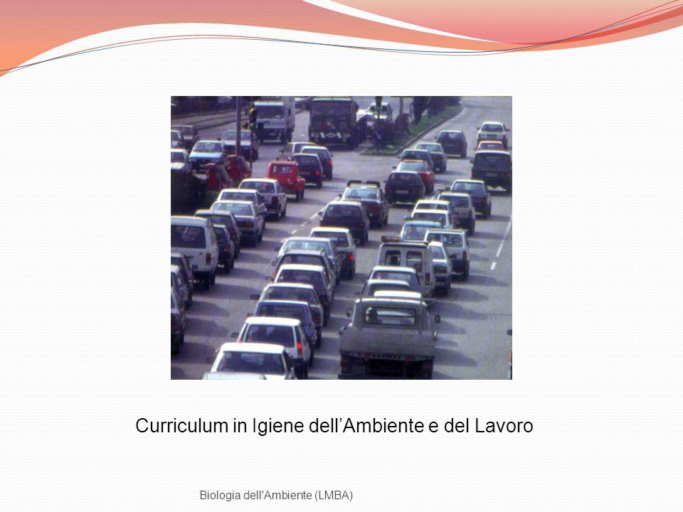 Biologia dell'Ambiente (LMBA) Curriculum in Igiene dellAmbiente e del Lavoro