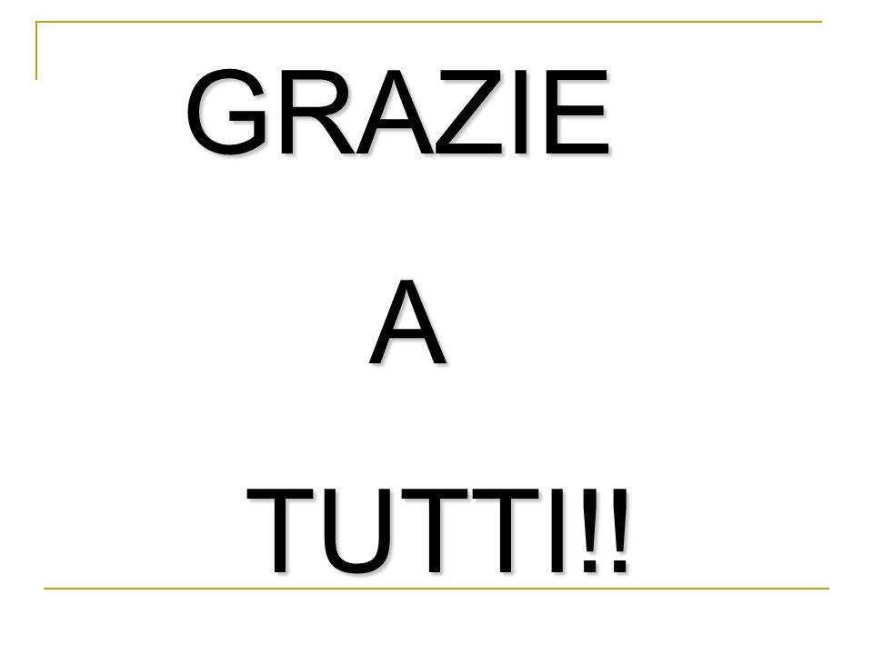 GRAZIE GRAZIE A TUTTI!! TUTTI!!