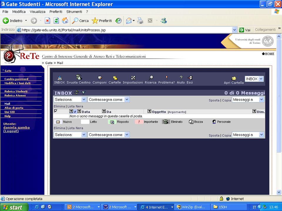 Principali servizi disponibili in Internet World Wide Web TCP/IP FTP(o File transfer Protocol) Gopher E-Mail Mailing list Newsgroup Telnet Webcast File_sharing
